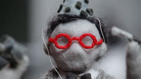 Rod puppets in intricate felt sets profess The Need to Be