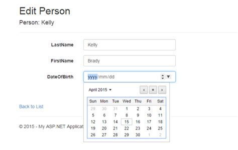 A jQuery UI-Based Date Picker for ASP