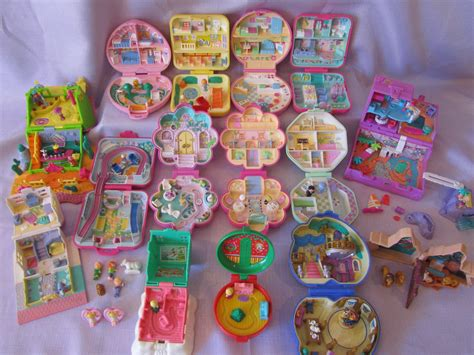 Vintage Polly Pocket Collection | These are all of my