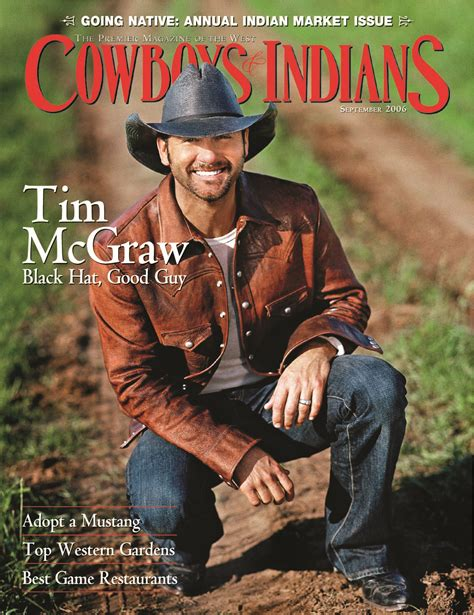 Tim McGraw: The Good Cowboy – Cowboys and Indians Magazine