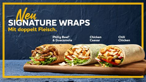 Meat our Wrap Stars - Dein Subway®