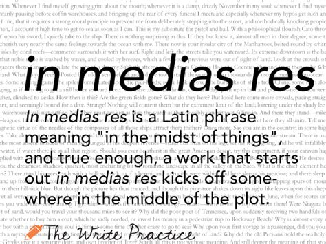 In Medias Res: Definition and Examples for Writers
