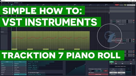 Tracktion 7 Tutorial: Using VST Instrument plugins with
