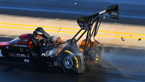 NHRA Top Fuel Dragster Tire Distortion   Car in My Life