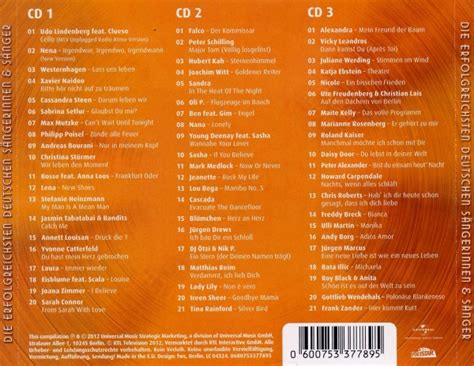 Die ultimative Chart Show 3CD - samplerinfos