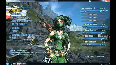 How to mod borderlands 2 using cheat engine - YouTube
