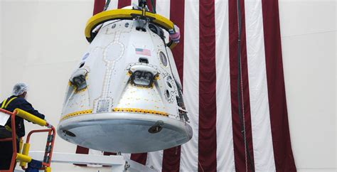SpaceX Crew Dragon spacecraft shown off in photo ahead of