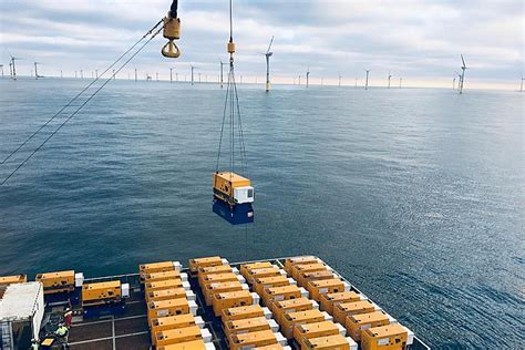MRE Completes Work on Hohe See Offshore Wind Farm