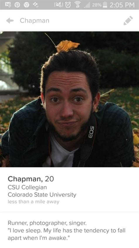 The seven guys you see on Tinder in Fort Collins - The