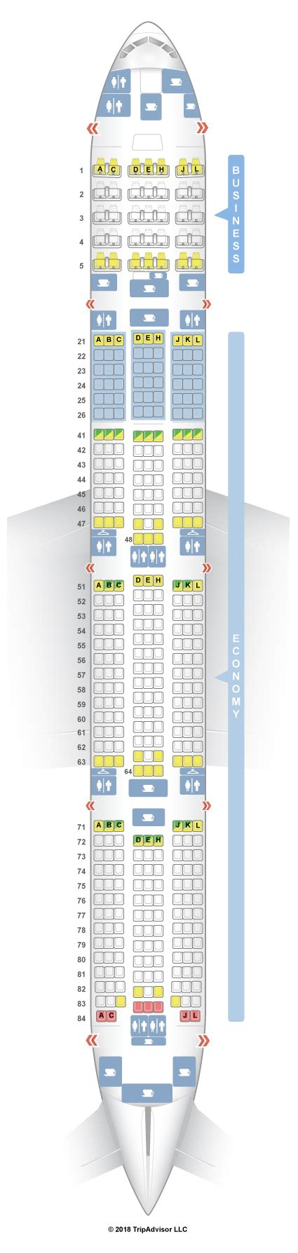 Boeing 777 Turkish Airlines Seating Chart | www