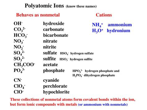 PPT - Ionic and Covalent Compounds PowerPoint Presentation