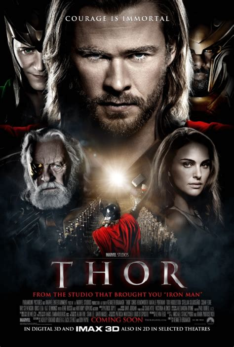 THOR Movie Posters Featuring Chris Hemsworth | Collider