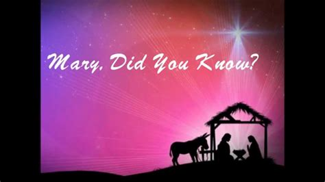 Stephen Quatro - Mary, Did You Know? - YouTube
