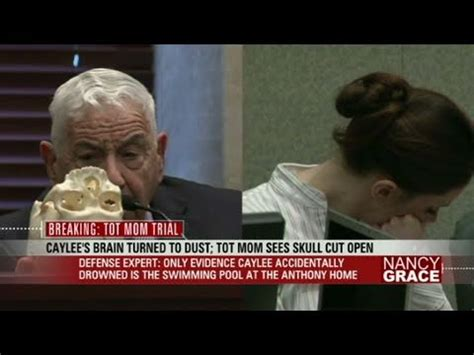 Casey Anthony sees Caylee's skull - YouTube