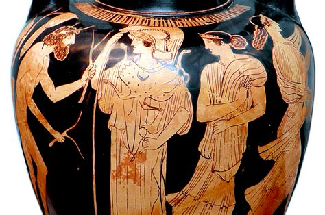 Datei:Odysseus and Athena at the meeting with Nausicaa