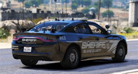 [4K] 2018 Charger BCSO Livery [Patrol + Ghost] - Textures