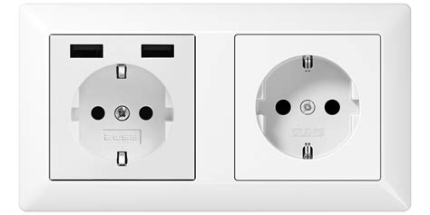 Easy charging with the USB Wall Socket Outlets from 2USB