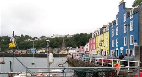 tobermory on island of Mull trossachs and islands