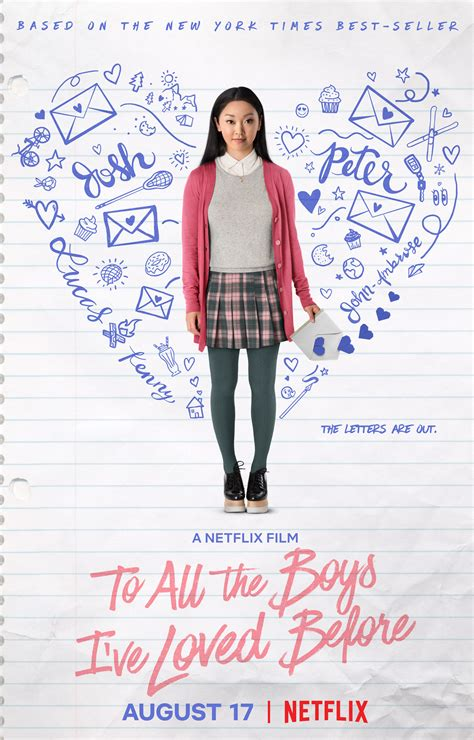 To All The Boys I've Loved Before Trailer & Key Art From