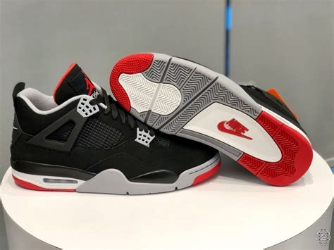 Are You Hyped For The Air Jordan 4 Bred 2019
