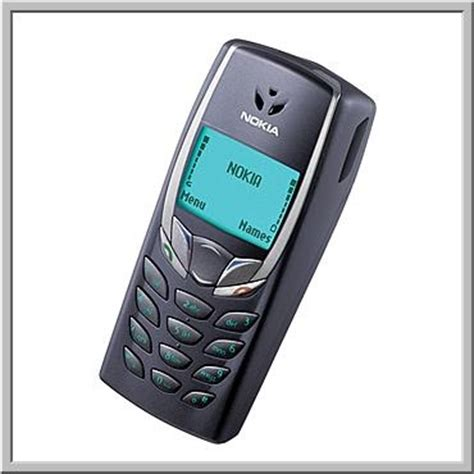 My first mobile phone - Nokia 6510! Got it immediately