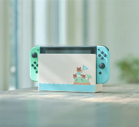 Adorable Animal Crossing-Themed Nintendo Switch Console