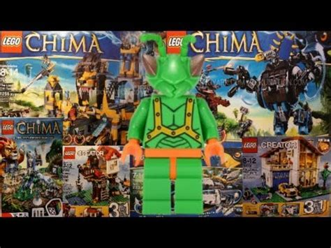 Summer 2013 LEGO Opinions: Chima, Creator, and Games (NY