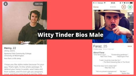 These 21 Witty Tinder Bios Male Will Get You What You Want