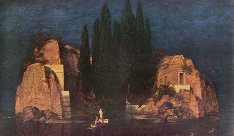 The Isle of the Dead and the English Cemetery of Florence