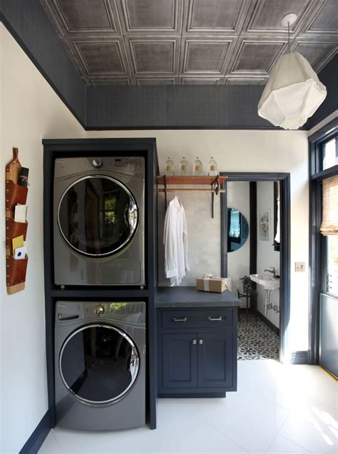 A Dreary Laundry Room Is Now a Place You Actually Want to