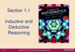 'inductive and deductive reasoning' on SlideShare