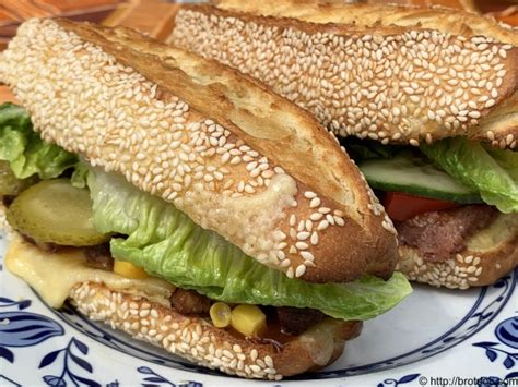 Subway Brot   der brotdoc - The Healthy Cooking Source