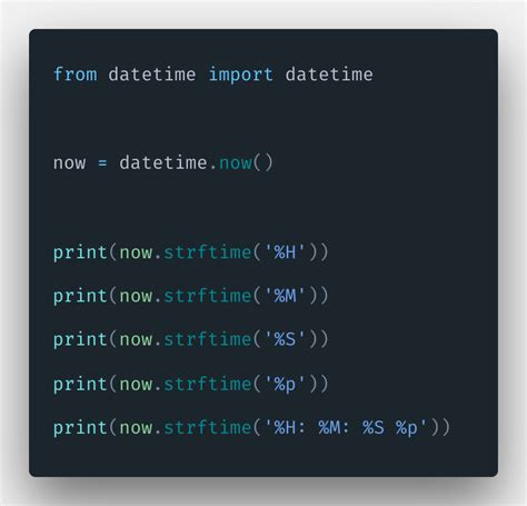 Python Time Format Example | How To Format Time Tutorial