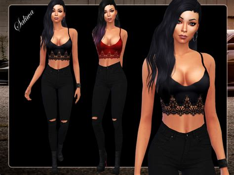 Sims 4 CC's - The Best: Clothing by Saliwa