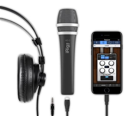 IK Multimedia iRig Mic HD 2 Microphone for iOS, Android