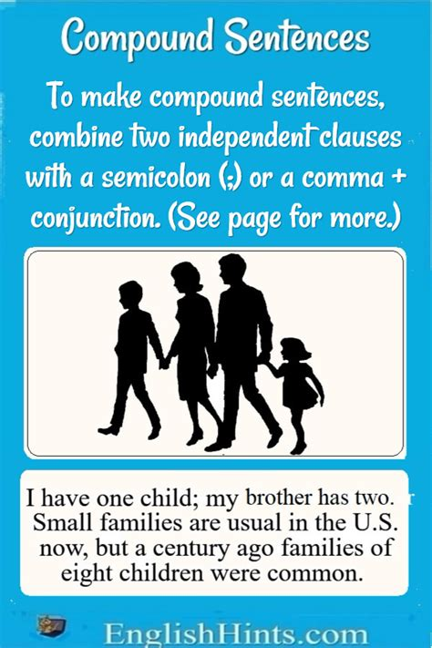 Compound Sentences: Examples and Practice