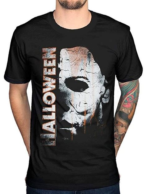 Michael Myers Mask and Drips t-shirt