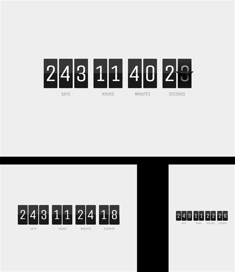 Count Everest Countdown   Responsive jQuery Plugin by