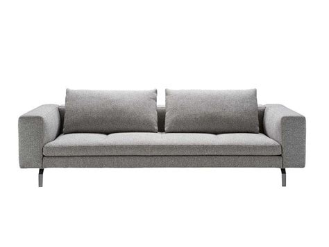 UPHOLSTERED FABRIC SOFA WITH REMOVABLE COVER BRUCE BY