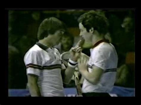 Chicago 1982 Michelob - Connors vs McEnroe flare-up - YouTube