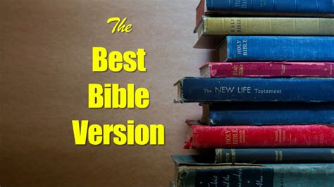 What Is the Best Bible Translation? - YouTube