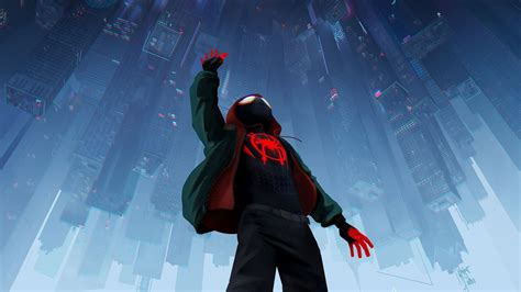 Download 1920x1080 wallpaper spider-man: into the spider